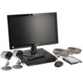 Set 2 Telecamere +DVR+Monitor+HDisk+Cavi