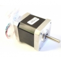 Smaller stepper motor, for extruder