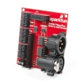 SparkFun ESP32 Thing Plus DMX to LED Shield