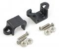 Supporto nero per micro motori in metallo