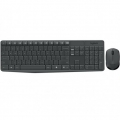 TASTIERA MOUSE LOGITECH WIRELESS DESKTOP MK235 NERA RETAIL