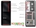 THINKSTATION P500 TOWER XEON QUAD-CORE@E5-1620 32GB 500GB QUADRO