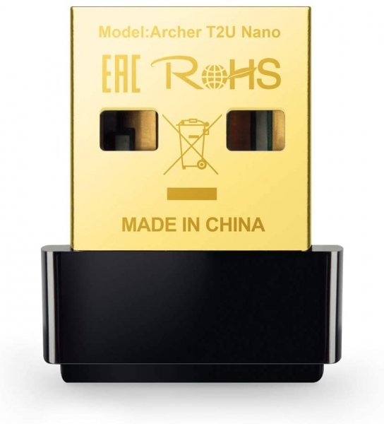 TP-Link Archer T2U Nano Adattatore USB Scheda di Rete, Wireless