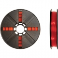 Small PLA Translucent Red 200g Spool 1,75mm Filament