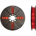 Small PLA Translucent Red 200g Spool 1,75mm Filament