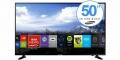 TV LED 50 4K ULTRA HD WI-FI SMART TV BLACK EU