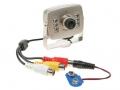 Telecamera CMOS B/N con 6 LED IR e Audio