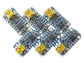 Trinket 6-Pack - 3 x 3.3V and 3 x 5V Trinkets