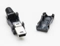 USB DIY Connector Shell - Type Mini-B Plug