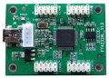 USB to 4-port Serial TTL Converter Board, FT4232L, Four 2x5-pins