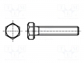 Vite M3x8 - Testa esagonale - 100pcs