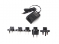 Wall Adapter Power Supply 12VDC 1.2A - Includes 5 adapter plugs