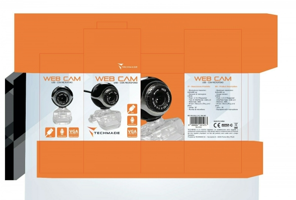 Web Cam USB con Microfono
