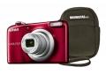 Fotocamera Nikon A10 rossa + Custodia Nikon