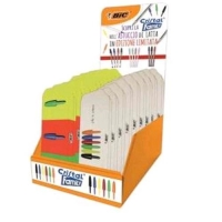 BIC CRISTAL FAMILY BOX ESPOSITORE PENNA A SFERA PUNTA 1 mm COLOR
