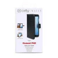 CELLY WALLY896 WALLY HUAWEI P40 CUSTODIA A PORTAFOGLIO BLACK