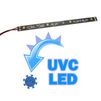 Strip rigida con 4 LED UVC