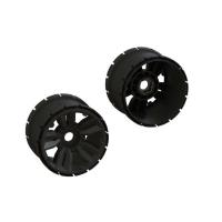 "Mt Wheel 4.9 24mm Hex (1 Pair) - ARA510122"""