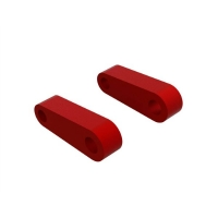 Aluminum Fr Suspension Mounts (Red) (2) - ARA330594