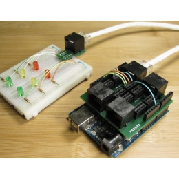 Patch shield for Arduino - v1.0