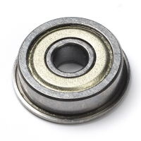 F625ZZ Shielded ball bearing (Flanged, 10 pieces)