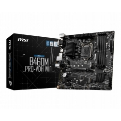MB MSI B460M PRO-VDH WIFI SKT1200 2D4 2M.2 6S3 U3.2 V/D/H MATX