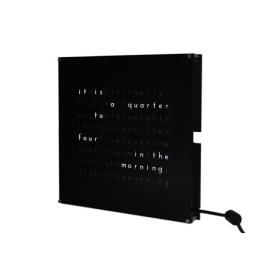 Clock THREEjr kits(with black faceplate)