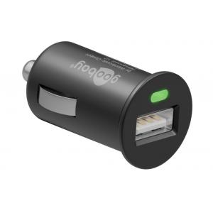 Caricatore Compatto da Auto 1 porta USB con uscita 1A Nero