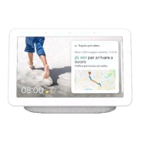 """GOOGLE NEST HUB WHITE HOME VOCAL ASSISTANT CON DISPLAY 7"""" TIM"""