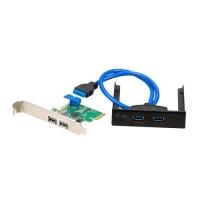 I-TEC PCE22U3EXT SCHEDA PCI-E ADATTATORE USB 3.0 INTERNO + PANNE