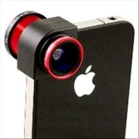 OLLOCLIP 4 IN 1 X iPHONE 5/5S RED
