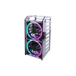 Rack Tower Pro for Raspberry Pi & Jetson Nano - 8-layer acrylic