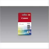 CANON CL-38 CARTUCCIA MULTICOLOR IN BLISTER CON ALLARME PERPIXMA