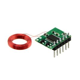 Mini 125Khz RFID Module - Pre-Soldered Antenna (35mm Reading Dis