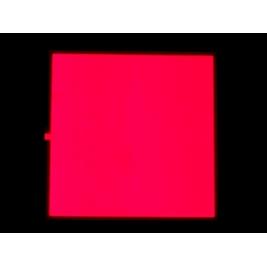 EL Panel - Red 10cm x 10cm