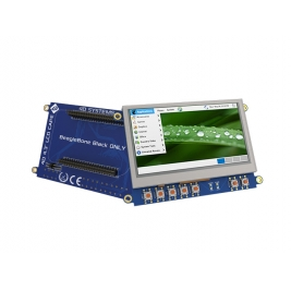 4.3 (inches) LCD Cape for BeagleBone Black ‐ Non Touch Display