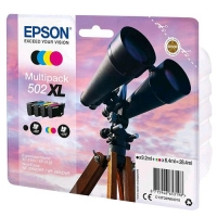 EPSON MULTIPACK 502 XL CARTUCCE INK-JET NERO + CIANO + MAGENTA +