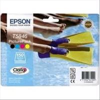 EPSON T5486 CARTUCCIA INKJET 4 COLORI + 150 FOGLI DI CARTA FOTOG