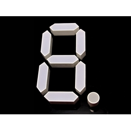 7 Segment Display - 3 Inches - Red