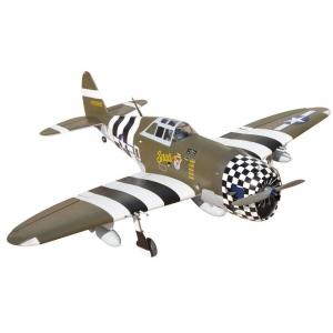 P-47G Thunderbolt 60 Snafu Aeromodello riproduzione