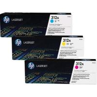 HP 312A PACK TONER CIANO + GIALLO + MAGENTA PER STAMPANTI LASER