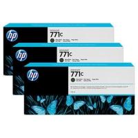 HP 771C CARTUCCIA 775ML INCHIOSTRO NERO CONF. 3 PZ