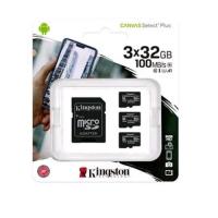KINGSTON CANVASS SELECT PLUS 32GB MICROSDHC CLASSE 10 UHS-I CONF