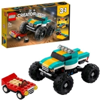 LEGO CREATOR 3 IN 1 MONSTER TRUCK MUSCLE CAR O DRAGSTER