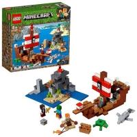 LEGO MINECRAFT AVVENTURA SUL GALEONE DEI PIRATI