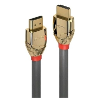 LINDY 37861 CAVO HDMI 4K HIGH SPEED GOLD LINE 1MT GRIGIO ORO