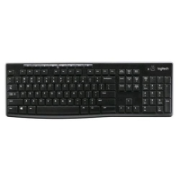 LOGITECH K270 TASTIERA WIRELESS 2.4 GHz LAYOUT TEDESCO COLORE NE