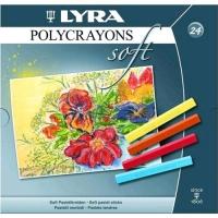 LYRA POLYCRAYONS SOFT GESSETTI ARTISTICI DI FORMA QUADRATA COLOR