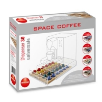 MACOM FOODSAVER SPACE COFFEE DISPENSER 30 PORTA CAPSULE UNIVERSA