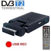 MAJESTIC DEC-663 MINI DECODER SCART-HDMI DVBT-T2 USB 2.0